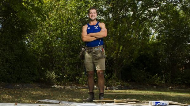 Canberra Demons captain Nick Heyne is helping to build Canberra's new NEAFL club.