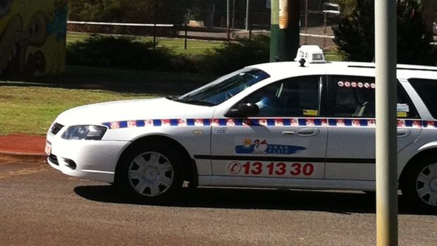 A woman captured a Swan Taxis driver doing a poo in a park in Leederville.