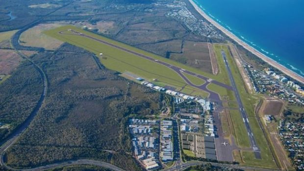 New runway planned Sunshine Coast Airport expansion.