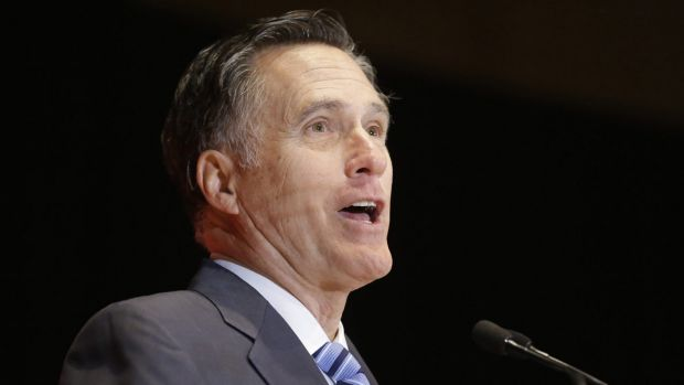 2012 Republican presidential candidate Mitt Romney weighs in on Donald Trump on Thursday.