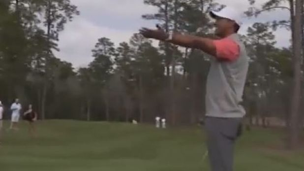Woods: 'Are you kidding me right now?'
