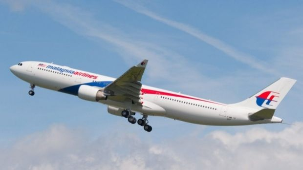 A Malaysian Airlines Boeing 777, similar to the aircraft that vanished on March 8, 2014.