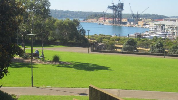 View of the Domain from the Gallery's north facade. Photo: Supplied by Andrew Andersons