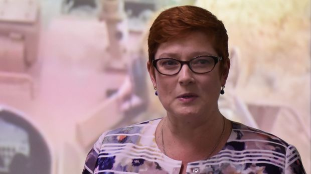 Minister for Defence Marise Payne says Australia has an open mind about Admiral Harris's suggestion.