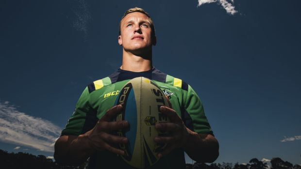 Sport Canberra Raiders' Jack Wighton who has just signed a new 3 year deal with the club.  17 November 2015. photo: ...