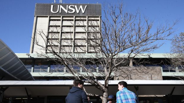 Students at UNSW have condemned the behaviour.