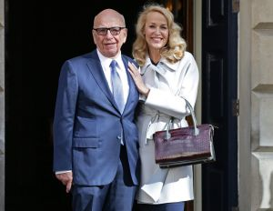 The deal featuring two separate arms of Rupert Murdoch's empire was struck at the same time as Mr Murdoch married Jerry ...