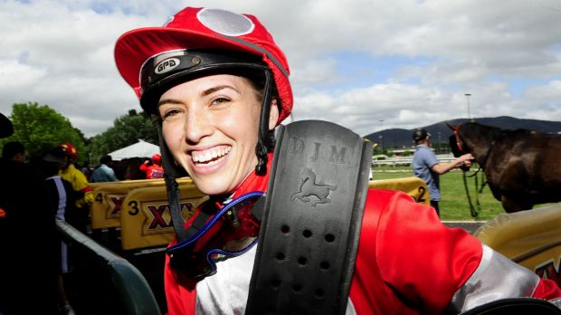 Canberra jockey Kayla Nisbet is putting a tough couple of years behind her to appear in the Black Opal.
