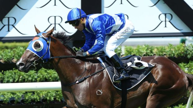 One to watch: The victory rocketed Kiss And Make Up into Slipper calculations.