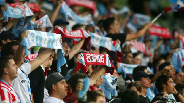 Melbourne City fans turned up in numbers for Saturday's match.