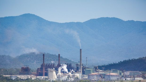 Clive Palmer's Queensland Nickel refinery.