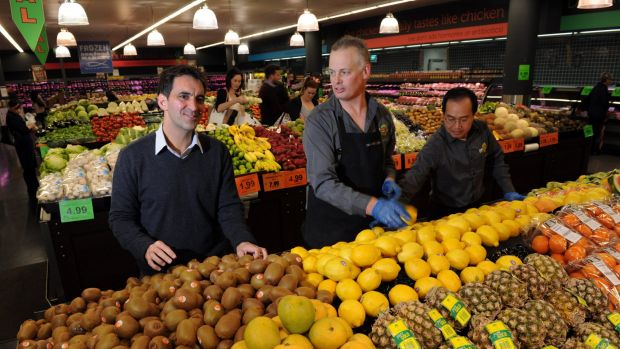 Supabarn's store at the Canberra Centre is one of five which will be acquired by Coles.
