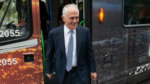 """Prime Minister Malcolm Turnbull says a scoping study will give a """"realistic, costed options on what it takes to be rail ..."""