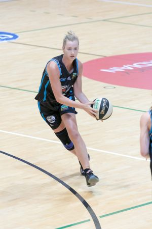 Rachel Jarry starred for the SEQ Stars before copping a head knock.