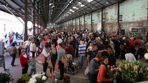 Carriageworks will increase the size of its weekend Farmers Market, add a weekday market and host food events throughout ...