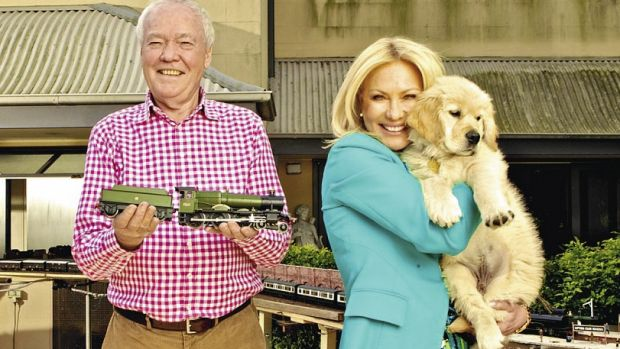 John and Kerri-Anne Kennerley at their Woollahra home.