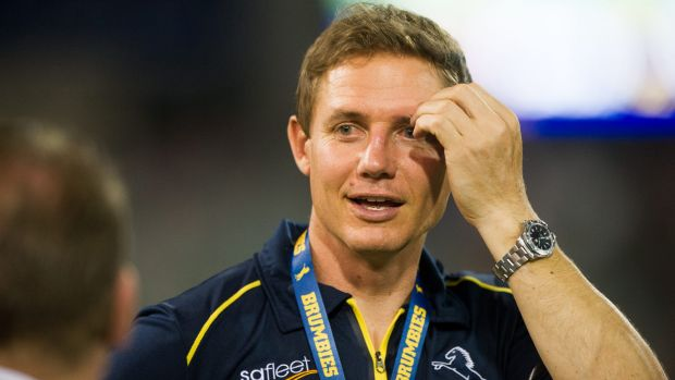 The Brumbies are confident the Queensland Reds won't poach Stephen Larkham.
