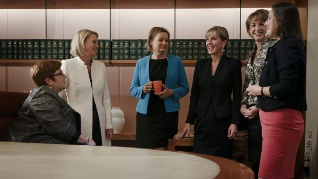 When the Liberal government came into power in 2013, Australia had only one female cabinet minister - there are now six.