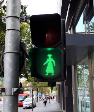 A pedestrian signal honouring Mary Rogers will be installed at a crossing in Richmond.