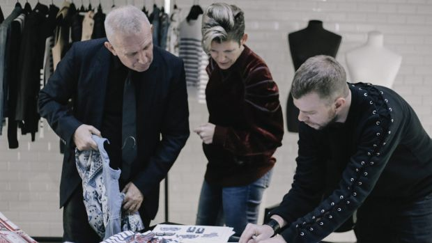 John Paul Gaultier (left) is collaborating with Target on a fashion range.