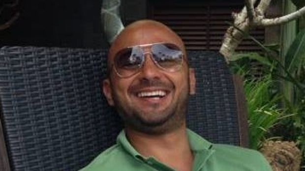 Terry Bassal was injured after walking into the business.