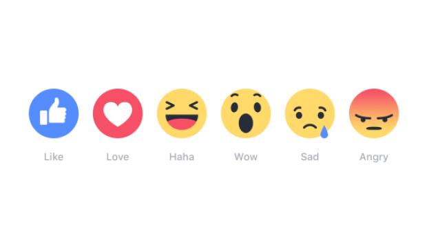 An 'angry' face on Facebook can mean bad news for businesses, but negative comments are still worse.