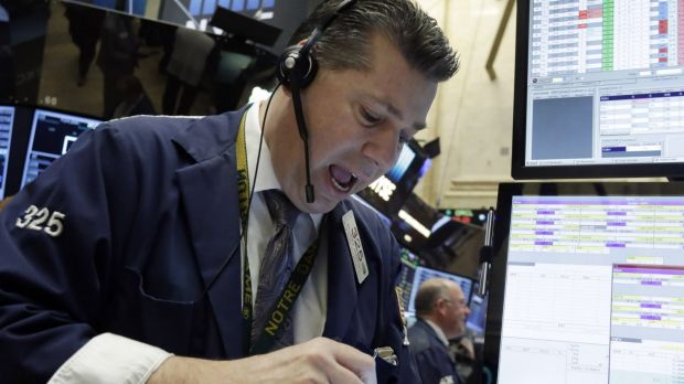 The S&P 500 was lower in late trade in New York, halting a five-day rally that pushed the index to a two-month high.