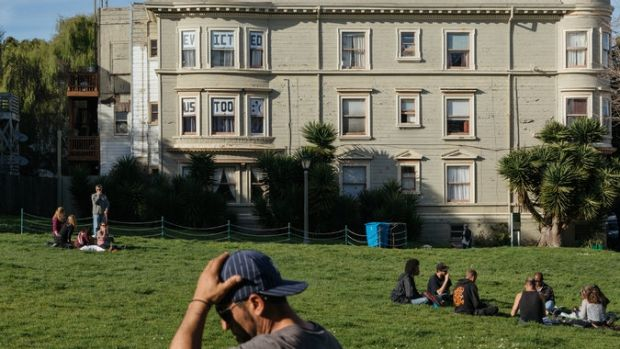 Some San Francisco residents say soaring real estate prices have made evictions a big problem.