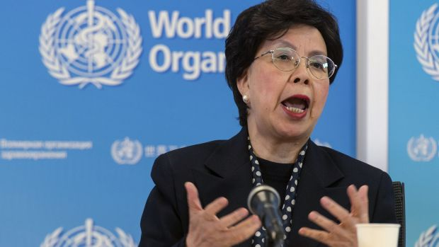 China's Margaret Chan, General Director of the World Health Organisation, in Geneva on Tuesday.