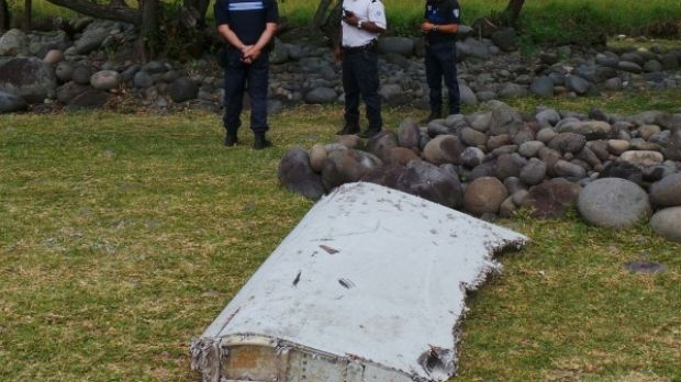 The only confirmed piece of debris from flight MH370 washed up on Reunion Island in July 2015.