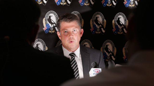 Collingwood CEO Gary Pert has resigned.