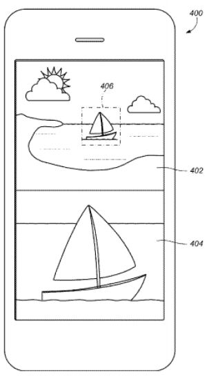 An image from Apple's patent application.