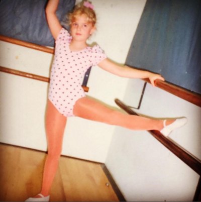 """Drew Barrymore shared this picture of her younger self on Instagram, to celebrate International Women's Day.  """"I love ..."""