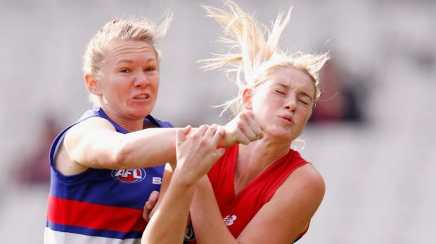 The Bulldogs and Melbourne are thought to be among the front-runners for the national women's league.