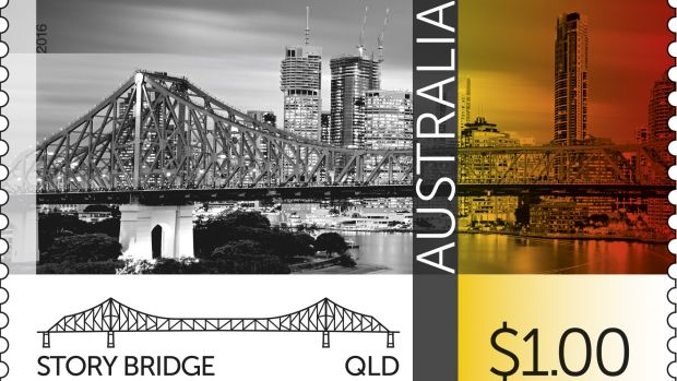 The Story Bridge will feature on a new stamp.