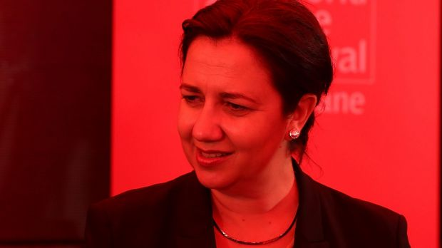 Premier of Queensland Annastacia Palaszczuk speaks at the World Science Festival on March 9.