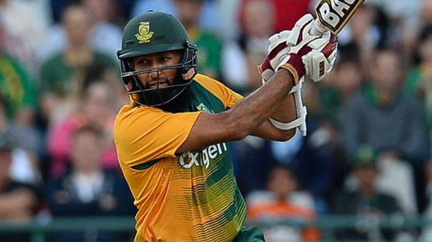 Classy as ever: Hashim Amla of South Africa.