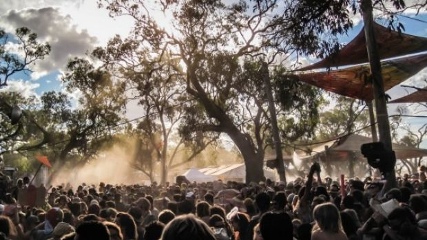 Maitreya Festival usually attracts up to 10,000 punters to the Buloke Shire.
