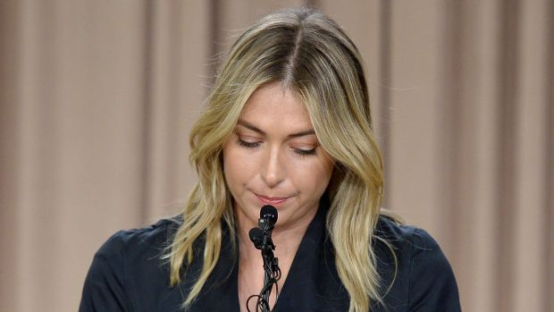 """Sharapova case: """"Maria had a prohibited substance in her body, which she admitted she took, so she's going to get a ..."""