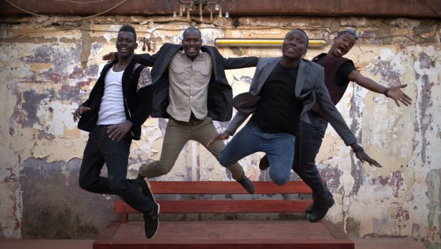 Brought together by the need to play music, the members of Songhoy Blues left their homeland behind.