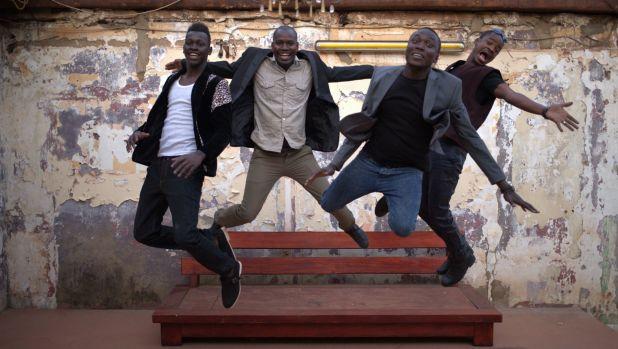 African rhythms and American blues - Malian band, Songhoy Blues.