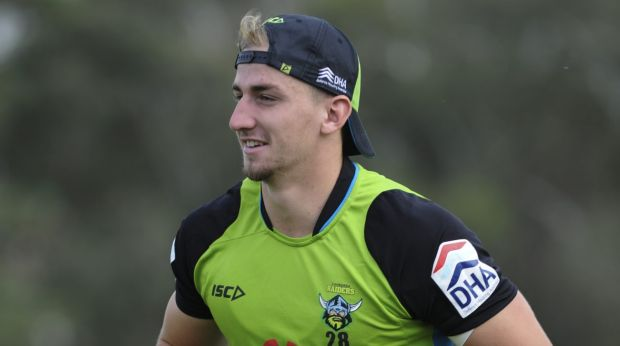 Lachlan Croker will make his NRL debut for the Canberra Raiders on Saturday.