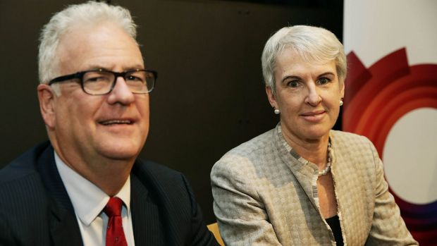 Broadspectrum CEO Graeme Hunt and chairwoman Diane Smith-Gander want a higher takeover offer