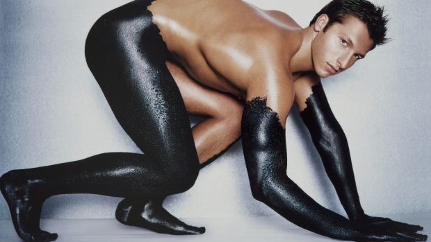 Ian Thorpe, seen here photographed by James Houston in Bare: Degrees of Undress, has gone to ground.