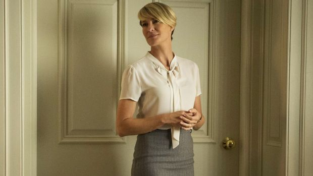 Robin Wright in <i>House of Cards</i>.