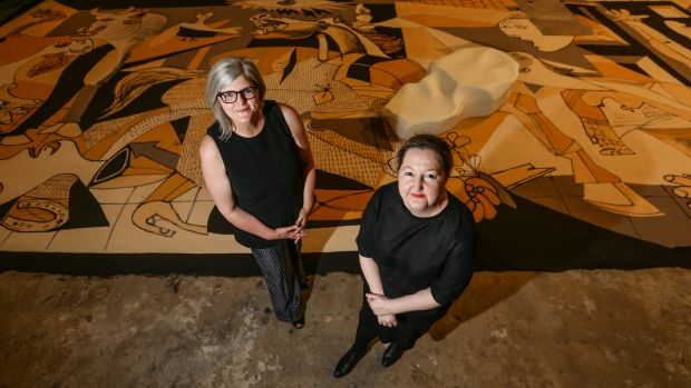 Carriageworks director Lisa Havilah (right) and board chairwoman Sam Mostyn.