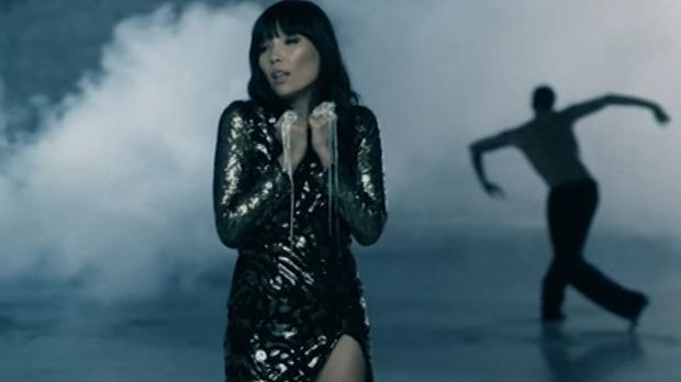 Still from Dami Im's Eurovision song, <i>Sound of Silence</i>.