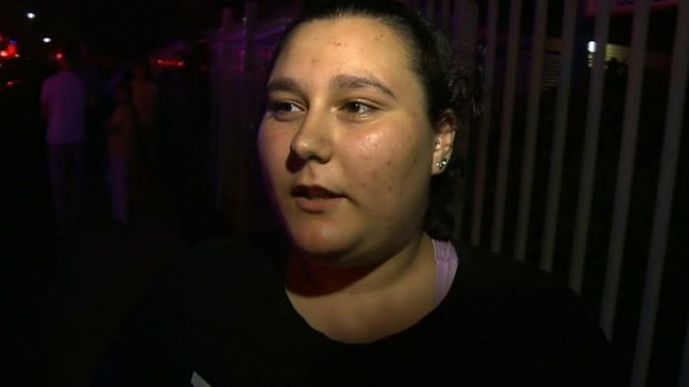 RIkaya, who lives in a nearby apartment, said there was a large amount of smoke on Wangee Road in Lakemba.