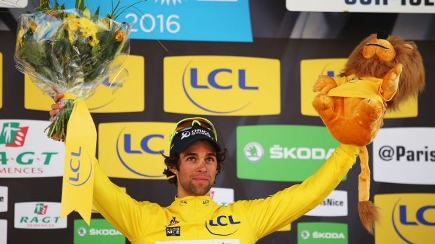 Michael Matthews of Australia and Orica GreenEDGE retained his leader's yellow jersey.