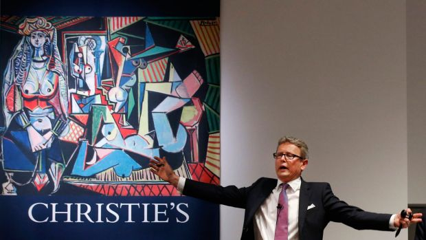 """Pablo Picasso's """"€œLes Femmes d'™Alger"""" sold for $US179 million last May, setting a world record for artwork at auction. ..."""